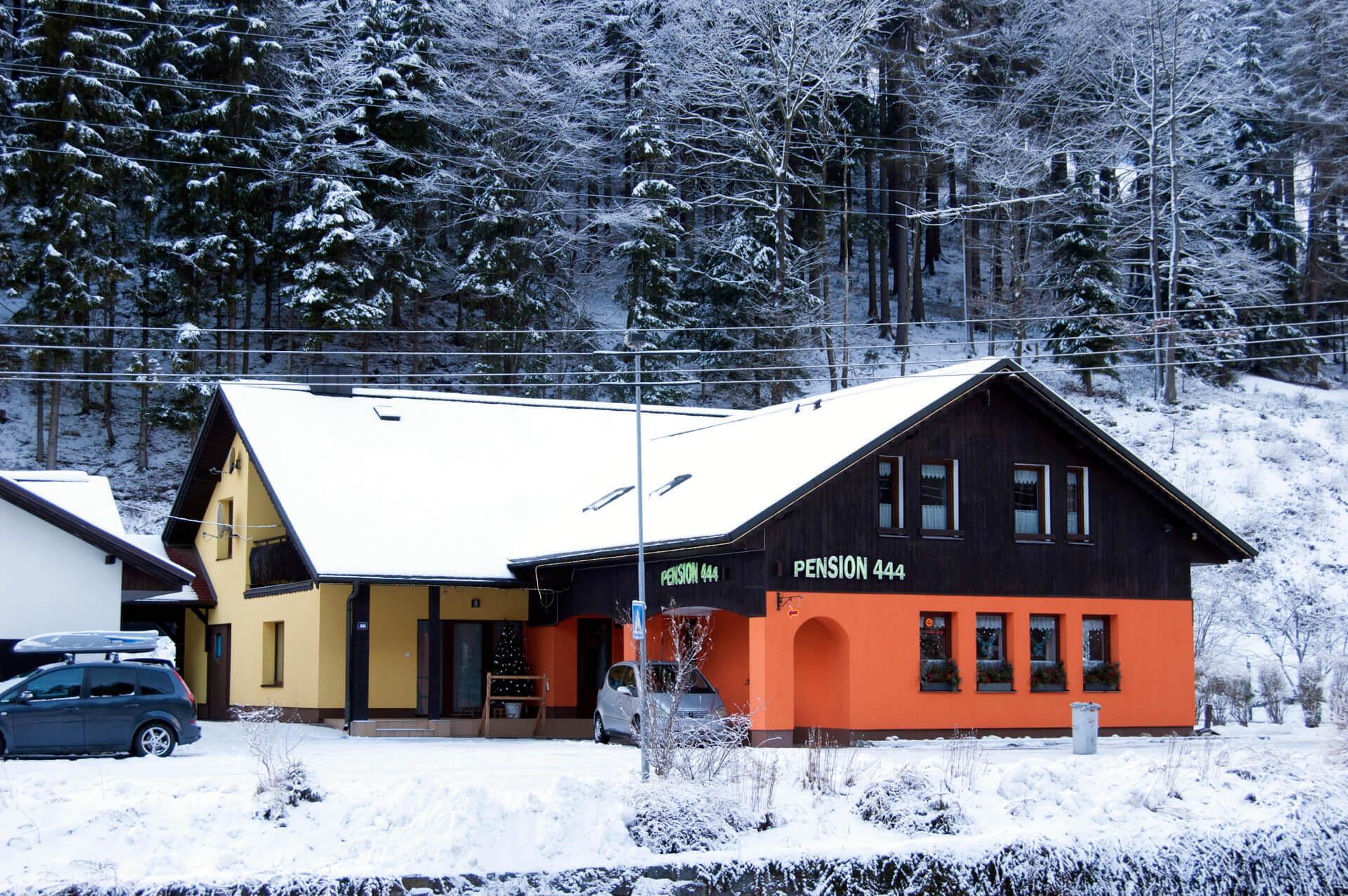 Pension 444 - skiareál Herlíkovice - Exterier