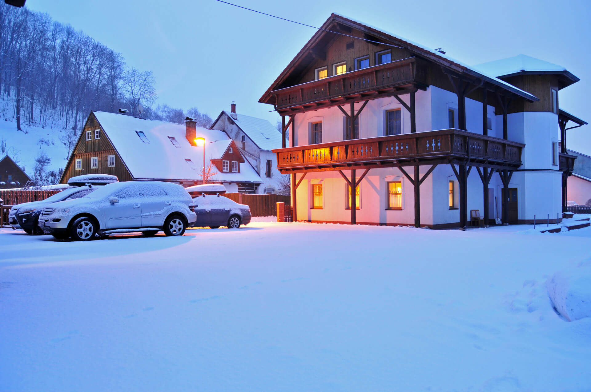 Pension 220 - Rodinné apartmány ve Vrchlabí